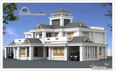 luxury villa design luxury home design elevation 5050 sq ft kerala home