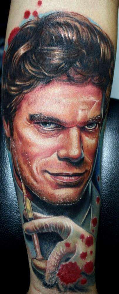 dexter tattoo