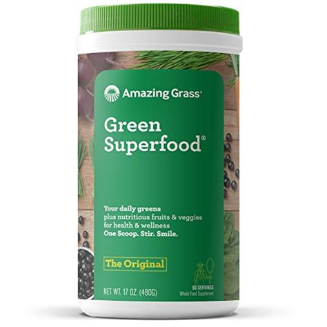 3 Day Detox Wheat Grass Green Superfood by Amazing Grass Green Superfood Organic Powder With Wheat