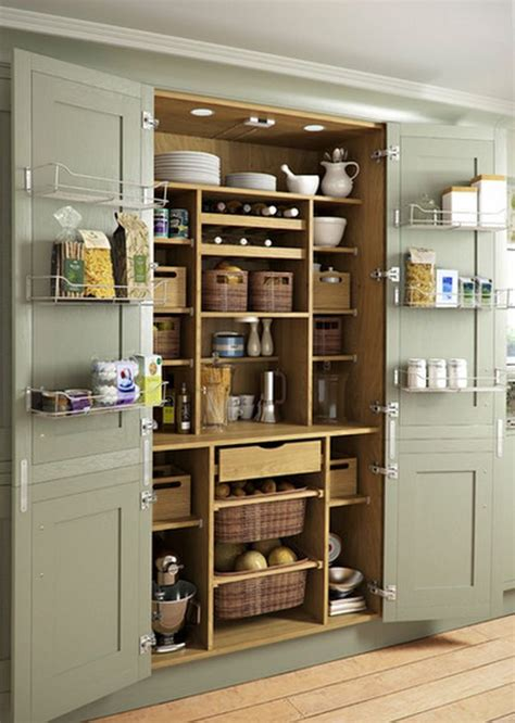 Kitchen Pantry Shelf Ideas by 65 Ingenious Kitchen Organization Tips And Storage Ideas