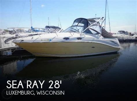 sea ray boats wisconsin sea ray boats for sale in wisconsin