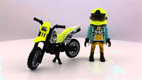 Enduro Motorrad Spielzeug by Playmobil Moto