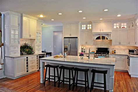Elegant White Kitchen   Transitional   Kitchen   New York