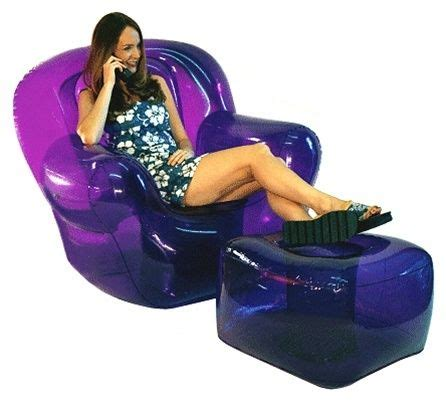 blow up recliner blow up furniture damn im old pinterest