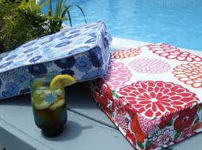 Sewing A Bench Cushion Summer Sewing Perfectly Portable Cushion Sew Sew