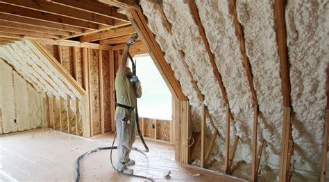 loft insulation attic room insulating your attic with icynene home logic
