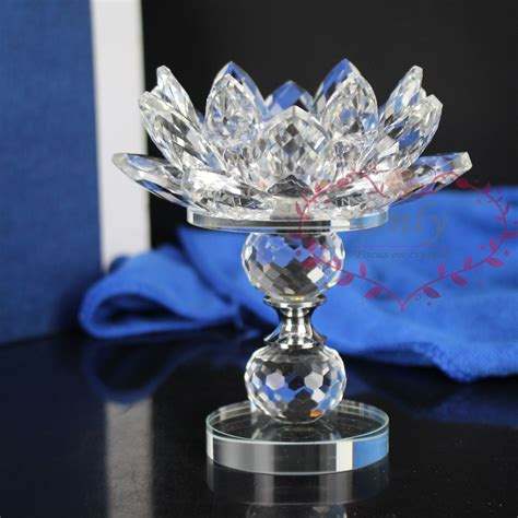 high quality tea lights online buy wholesale crystal lotus flower from china