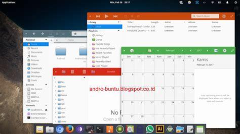 google design linux paper tema linux mirip google material design androbuntu