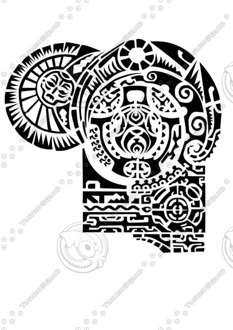 tattoo the rock design shapes other rock psd