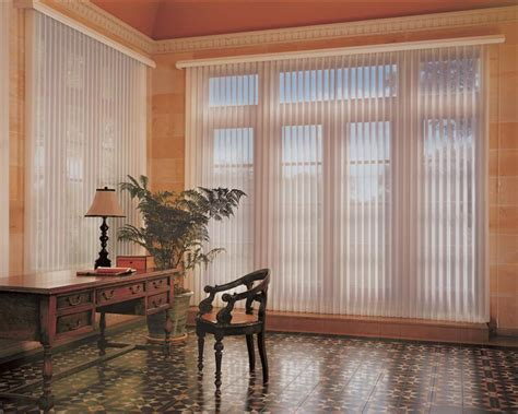 Sheers For French Doors - hunter douglas vertical shades