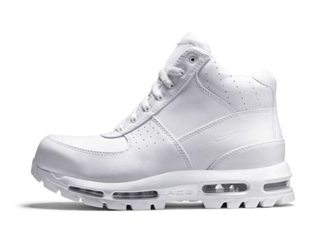 white acg boots nike acg air max goadome quot white white quot complex