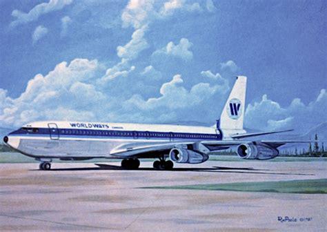 Worldways canada boeing 707 338c by bob poole
