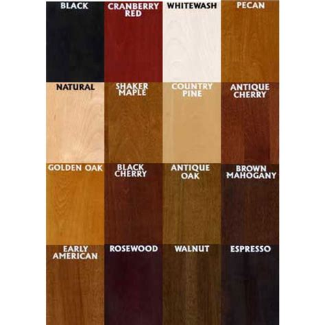 minwax water based stain colors 1000 ideas about water based wood stain on