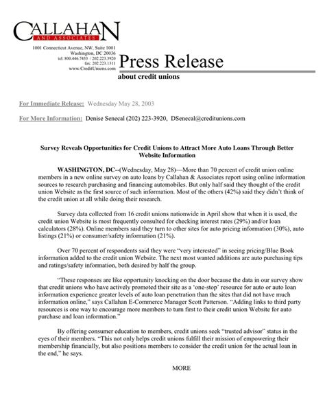 template of a press release press release template in word and pdf formats