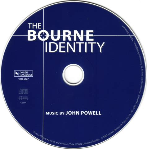 theme music bourne identity the bourne identity original motion picture soundtrack
