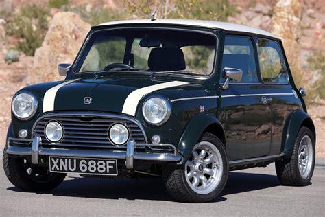 Clasic Mini Black K 1968 morris cooper mini 1000 test drive viva las vegas autos