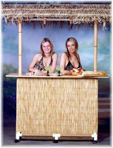 Portable Tiki Hut Portable Tiki Bar Tiki To Go Commercial Tiki Bar
