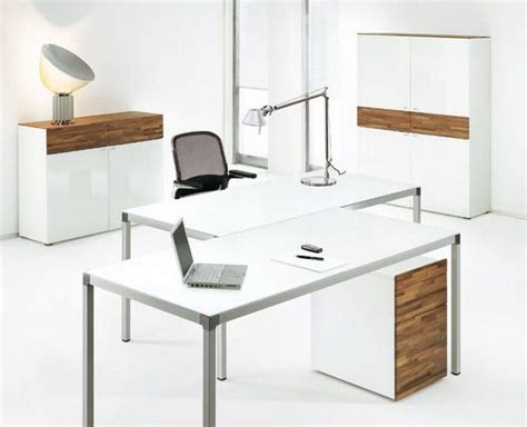 charming idea modern white office desk modest decoration
