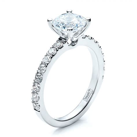 Classic Engagement Rings by Custom Classic Engagement Ring 1469