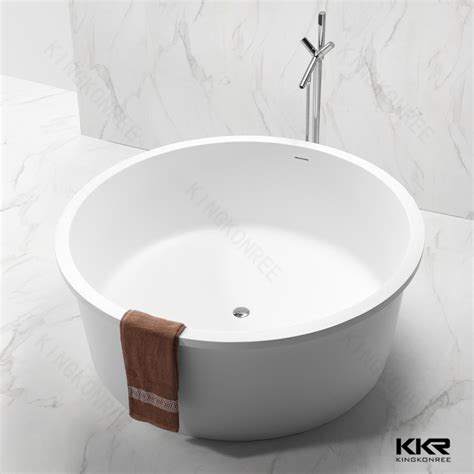freestanding round bathtub acrylic pedestal small freestanding bathtub round tub