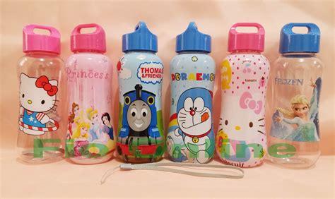 Botol Minum Anak Karakter Hello Frozen 350ml Tempat Minum Bekal jual botol minum karakter bpa free fio