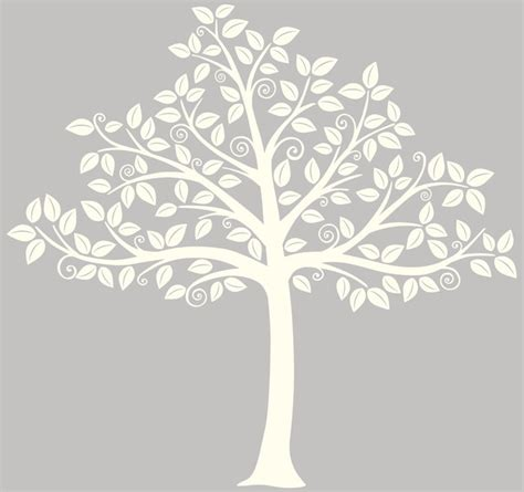 Wall Stickers For Kitchens silhouette tree wall art decal kit contemporary wall