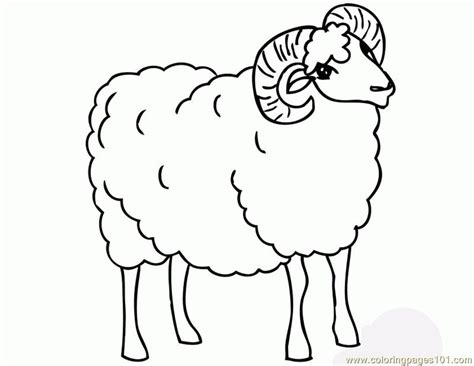Ram Coloring Page Printable | free coloring pages of e ram
