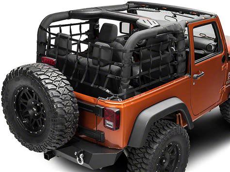 Jeep Net Doors Trushield Wrangler Wrap Around Net One J101192 07