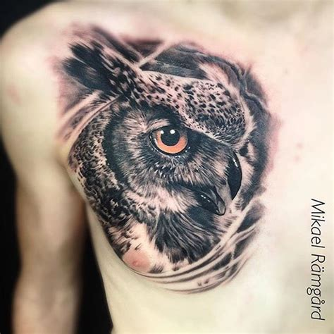 owl head tattoo collection of 25 realistic owl
