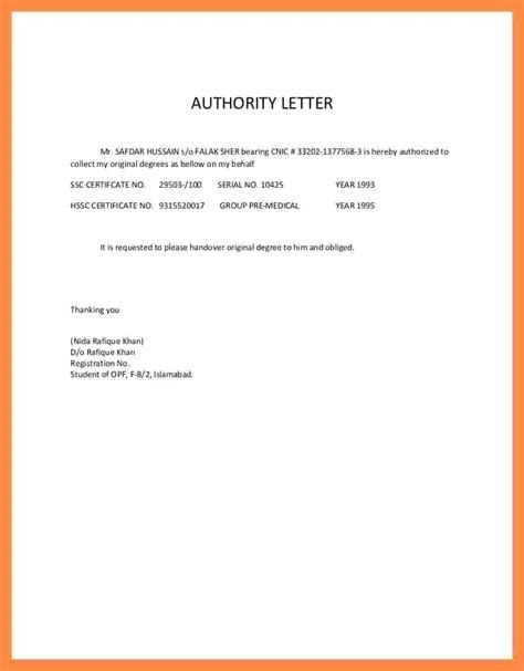 authorization letter to act on my behalf template template authorization letter template to act on my behalf