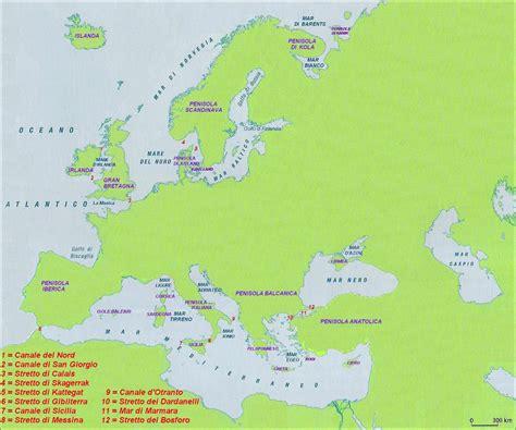 i mari bagnano l europa imparare con la geografia 9 mari penisole e isole in europa