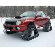Must See Subaru WRX With Tank Tracks  1A Auto Blog