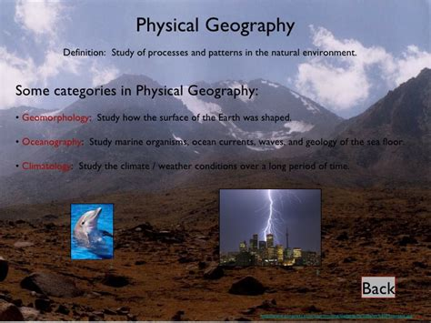 Physical Landscape Definition Human Geography Why Take Geography