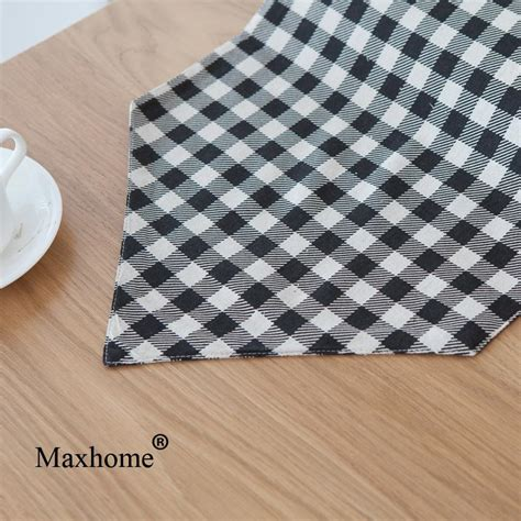 black and white plaid runner popular black woven placemats buy cheap black woven