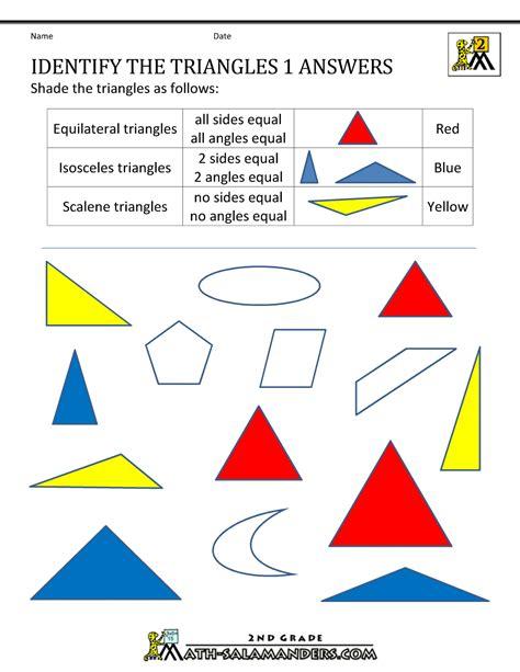 Shape 2 D 2d shapes worksheets 2nd grade