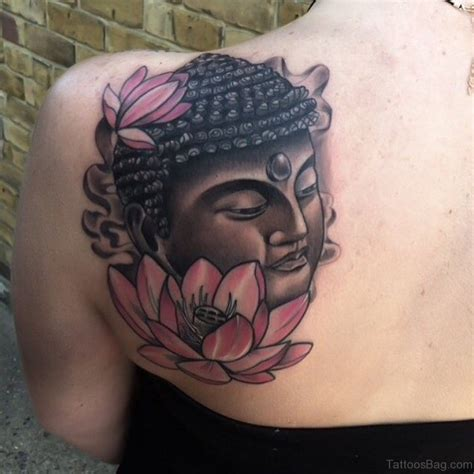 buddha and lotus flower tattoo designs 63 fantastic buddha tattoos for back