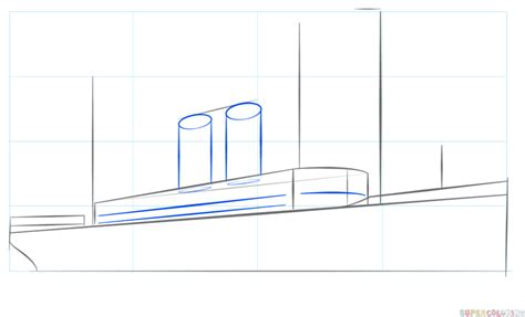 how to draw a boat figure 8 how to draw a steamship step by step drawing tutorials