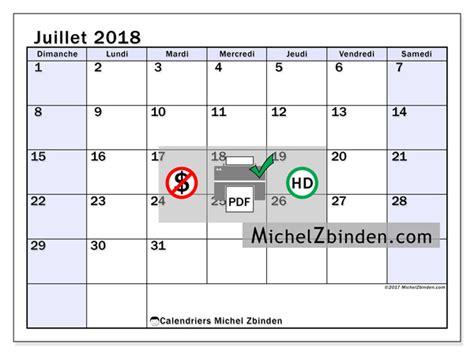 Calendrier 2018 Imprimer Canada Calendrier 224 Imprimer Juillet 2018 Auxilius Canada