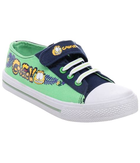 garfield blue canvas shoes for boys price in india buy
