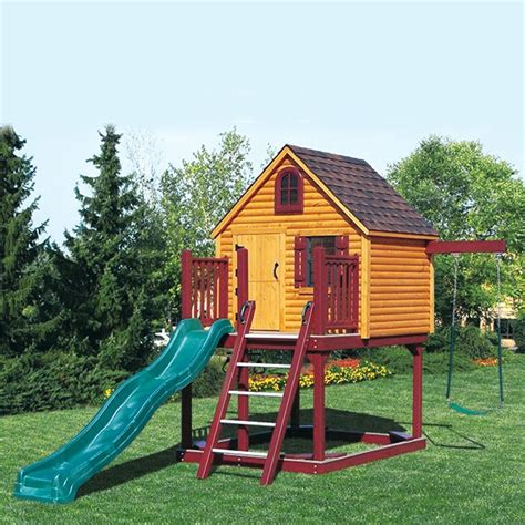 amazing swing sets these amazing playhouse kits 7