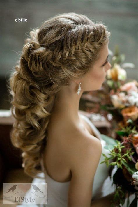 Wedding Hair With A Braid by 25 Best Ideas About Wedding Hairstyles On