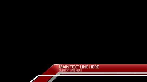 news template after effects free after effects lower third template corner angles