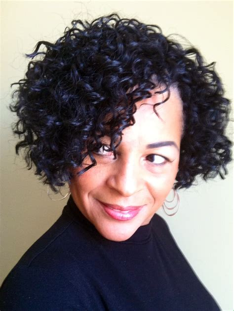 short styles with crochet crochet braids with freetress gogo curl bob cut tapered