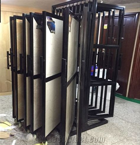 120sliding Wood Flooring Displays Onyx Table Stand Ceramic