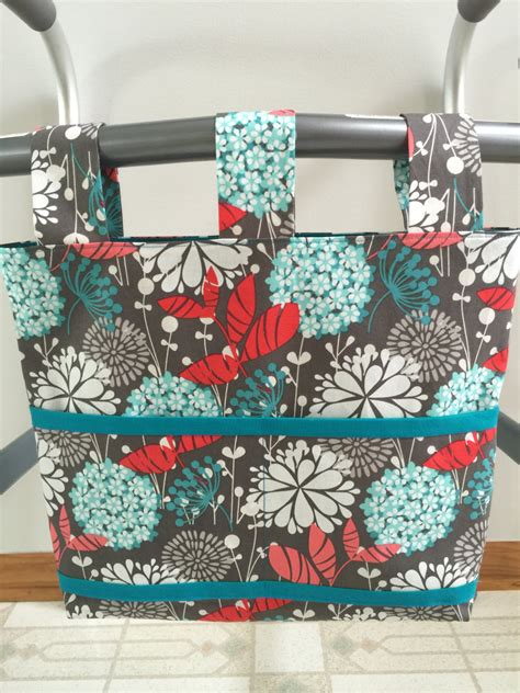 tote bag pattern for walkers walker bag walker tote carry all walker caddy