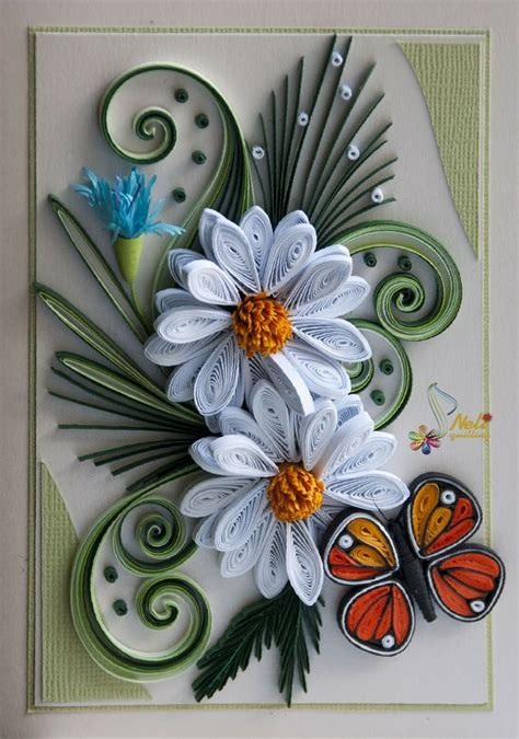 card with quilling quilling neli quilling cards ideas with new