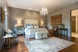 Traditional Master Bedroom With Carpet Amp Herringbone Tile