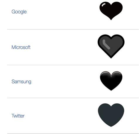 emoji hati hitam emoji black heart hadir untuk ekspresikan keresahan