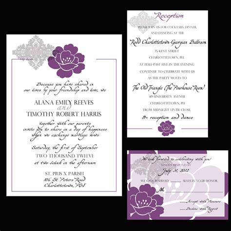 layout of invitation wedding invitations templates wedding plan ideas