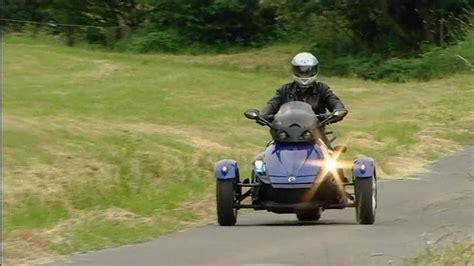 Dreirad Motorrad Can Am by Can Am Spyder Dreirad Motorrad Youtube